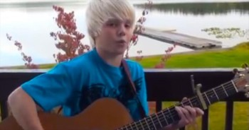 10-Year-Old Will Renew Your Faith With Acoustic Jamie Grace Cover