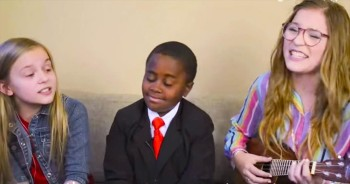 An Adorable LOVE Song From 3 Incredibly Talented Kids