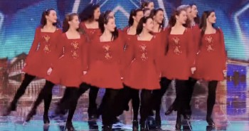 Irish Dancers Surprise Judges With AMAZING Twist