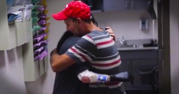 Her Biggest Dream Is To Hug Her Dad – This One Will Reduce You To Tears