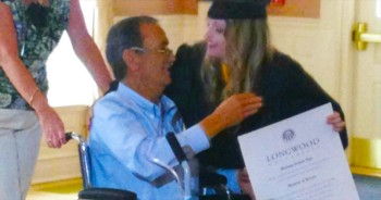 Dying Father Sees His Dream Come True As Daughter Graduates
