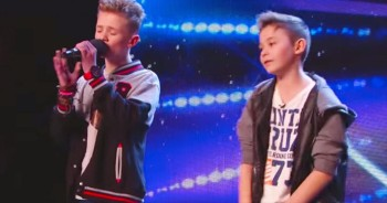 These Boys Started Singing And Simon Did The Unthinkable! WOW!