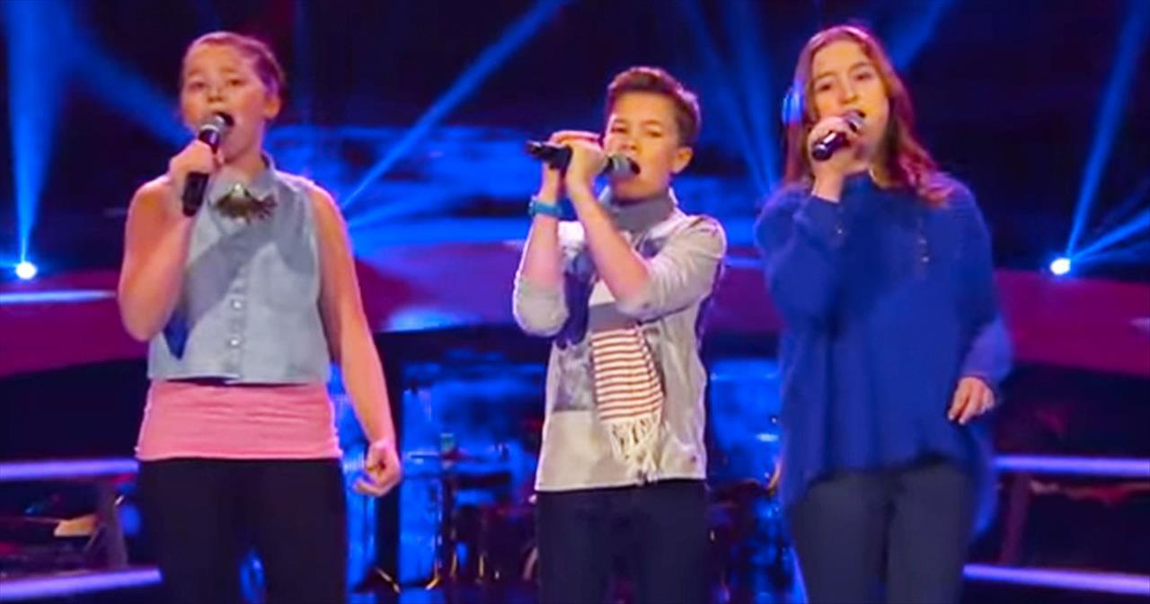 INCREDIBLE Kids Sing 'Hallelujah' Like I've Never Heard Before - Christian  Music Videos