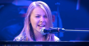 Young Girl Sings EPIC 'What A Wonderful World' – You Will Be Breathless