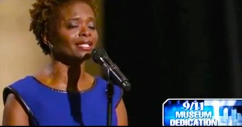 Tony Award-Winning Actress Sings 'Amazing Grace' At 9/11 Musuem