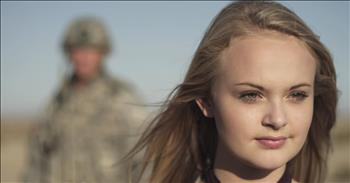 'Soldier's Light' - 15-Year-Old Sings Military Tribute