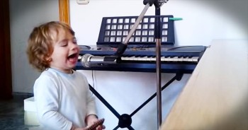 Not Sure What This 2-Year-Old Has To Be 'Blue' About…But He's Rocking It!