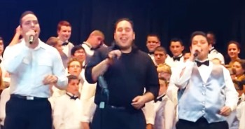 A Bullied Boy and His Brothers Come Together For One Emotional Rendition Of 'Stand By Me'