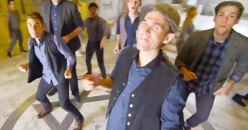 Group Of Boys Perform Incredible A Cappella Medley in ONE Take