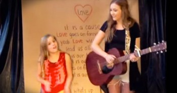 Two Sisters Always Make Me Smile – What A SWEET Performance!