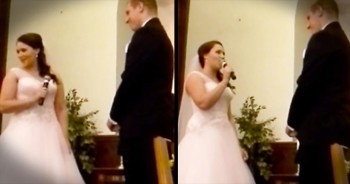 Bride Surprises Groom With Her Own CHRISTIAN 'Hallelujah' At The Altar – You'll Be In Tears