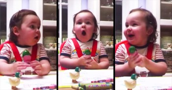 This Baby's Precious Reaction To Her Favorite Radio Station Will Make Your Heart Smile!