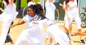 This Is One Awesome Flash Mob With A Purpose - I Just Want To Dance Along!