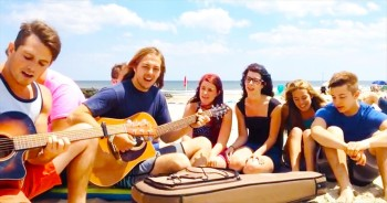 Worship No Matter Where You Are With This Cover Of 'This Is Amazing Grace'