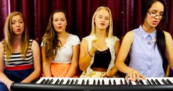 Chilling Voices Cover 'Never Alone' By BarlowGirl - This Is Phenomenal