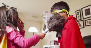 These Children Are Cleaning The House – And LOVING It. How Brilliant Are These Parents?