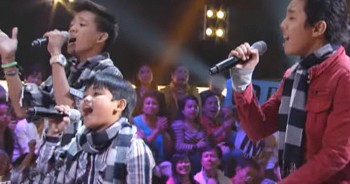 When These 3 Boys Sang 'I'll Be There,' My Heart Nearly Exploded - So Awesome!