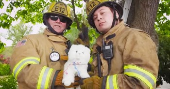 These Firefighters Will Definitely Keep You 'Safe And Sound' - And VERY Entertained!