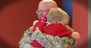 This Magician Had An Extra Special Trick Up His Sleeve For This Military Son - I'm Bawling!