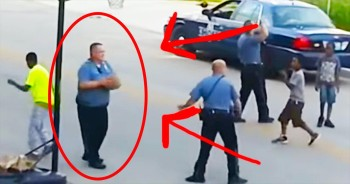 3 Police Officers Were CAUGHT Doing The Most Amazing Thing – WOW!