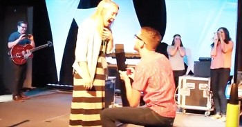 When HIS Face Showed Up On Screen, This Church Camp Counselor Was In For The BEST Surprise