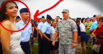 When This Military Dad Interrupted Graduation, Courtney Was MORTIFIED. But The Surprise At 26 Seconds Was SO Worth It!