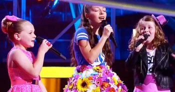 When These 3 Girls Sang 'Over The Rainbow,' I Knew It Would Be Incredible - But At 1:24, My Heart Leaped!