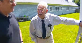 He's Been THE Weatherman For Over 84 Years And His Journey Will Turn Your Heart Into A Melty Mess