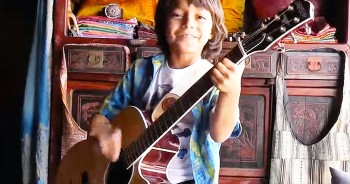 This 8-Year-Old's Song Is Breathtaking - But WHY He Wrote It Will Make Your Heart Smile