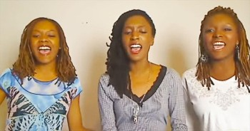 Singing Sisters Harmoniously DAZZLE With Hillsong's 'Mighty To Save'