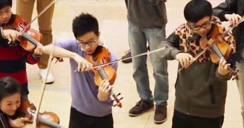 Youth Orchestra Went From Selfie To Thunderous Applause With This INSANE Flash Mob