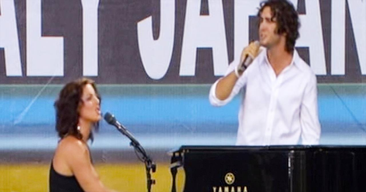 Josh Groban And Sarah McLachlan AMAZE With This Beautiful Song. I ...