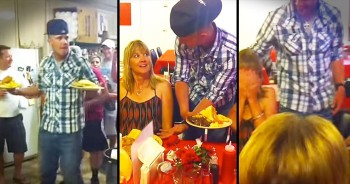 It Took A Moment, But When This Mom Saw WHO Her Waiter Was Everything Made Sense!