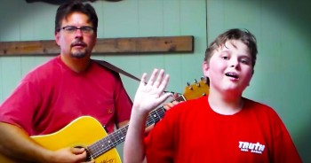 One Boy's Miraculous Recovery Has Him Singing For JESUS – God Is Good!