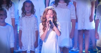 Insanely Talented Children's Choir CHILLS With Their Version Of 'Let It Go'