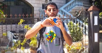 11 Countries. 84 Moves. 1 Solved Rubik's Cube. It Doesn't Get Much Cooler Than This!