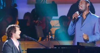 Josh Groban And Brian McKnight AMAZE With 'Bridge Over Troubled Water' – MAJOR Goosebumps!