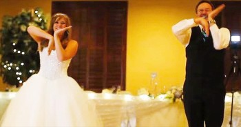 When This Bride And Her Father Started Dancing, I Was Touched. And Then They Did THIS!