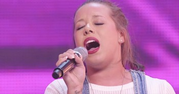 This Country Star-To-Be Just Got All The Judges On Their Feet. And Now I'm Cheering Too!