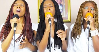 Sisters Sing Beautiful Harmonies To Our King With 'For Your Name Is Holy'