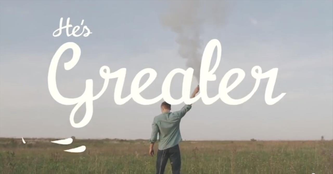 MercyMe - Greater (Official Lyric Music Video)