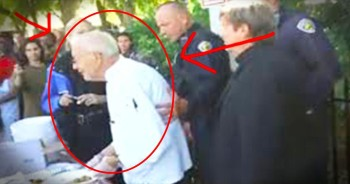 This 90-Year-Old WWII Vet Was Just Thrown In Jail. When You Hear WHY You'll Be Outraged!