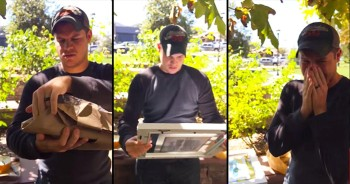 This Man Just Found Out He's A Daddy-To-Be. And His Reaction Is BEYOND Beautiful.