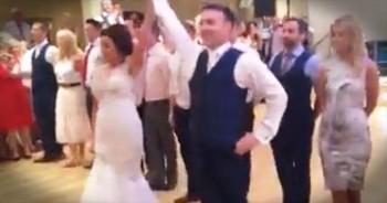 Bride And Groom Perform Incredible Irish Dance At Wedding Reception