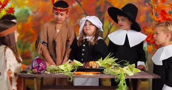 The First Thanksgiving According To Children