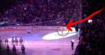 What These Canadians Did During The US National Anthem Stunned Everyone. This Gave Me Chills!