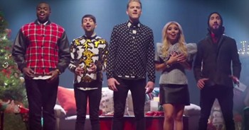Incredibly Talented A Cappella Group Sings 'That's Christmas to Me'