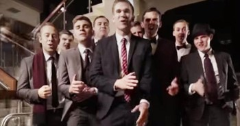Incredible A Cappella Group Performs 'God Rest Ye Merry, Gentlemen'