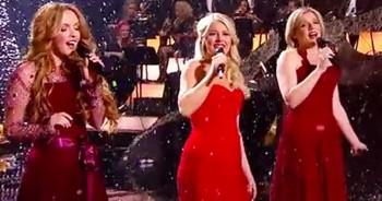 Feel Goosebumps As Celtic Woman Sings 'It's Beginning To Look A Lot Like Christmas.'