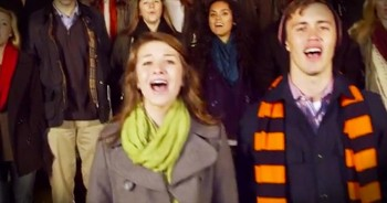 Incredible A Cappella Christmas Mashup Will Give You CHILLS!